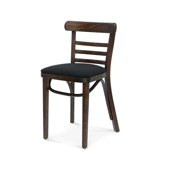 Charlie Classic Wood Chair Slatted Back Pub Restaurant Chair Bentwood