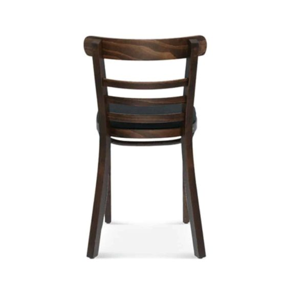 Charlie Classic Wood Chair Slatted Back Pub Restaurant Chair Bentwood Back