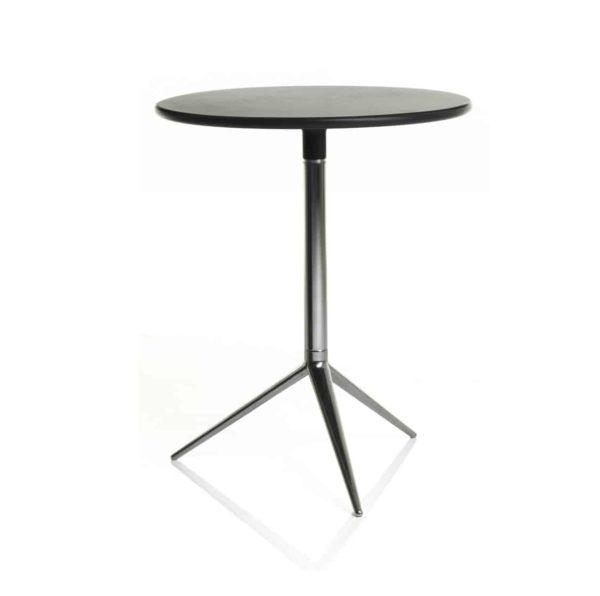 Ciak folding table base DeFrae Contract Furniture Alma Design Chrome