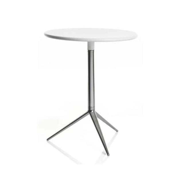 Ciak folding table base DeFrae Contract Furniture Alma Design White