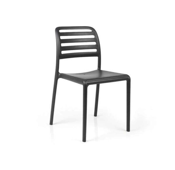Coast Side Chair Nardi Costa DeFrae Contract Furniture Black