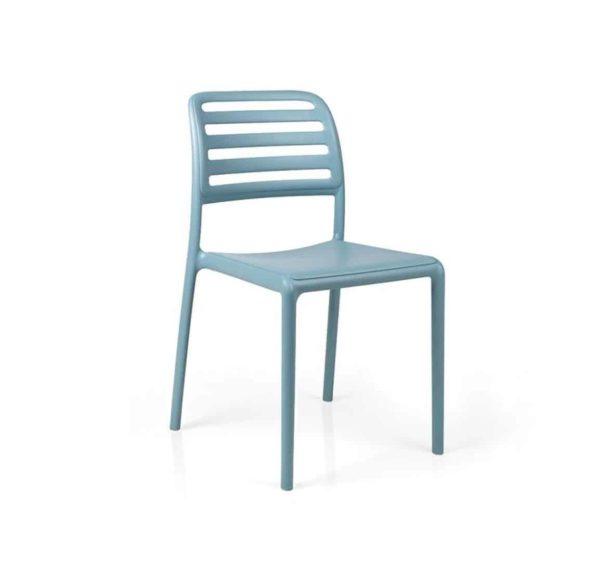 Coast Side Chair Nardi Costa DeFrae Contract Furniture Blue