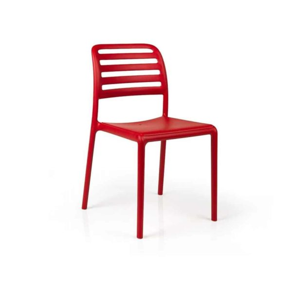 Coast Side Chair Nardi Costa DeFrae Contract Furniture Red