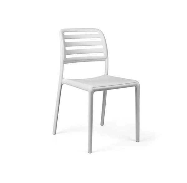 Coast Side Chair Nardi Costa DeFrae Contract Furniture White]