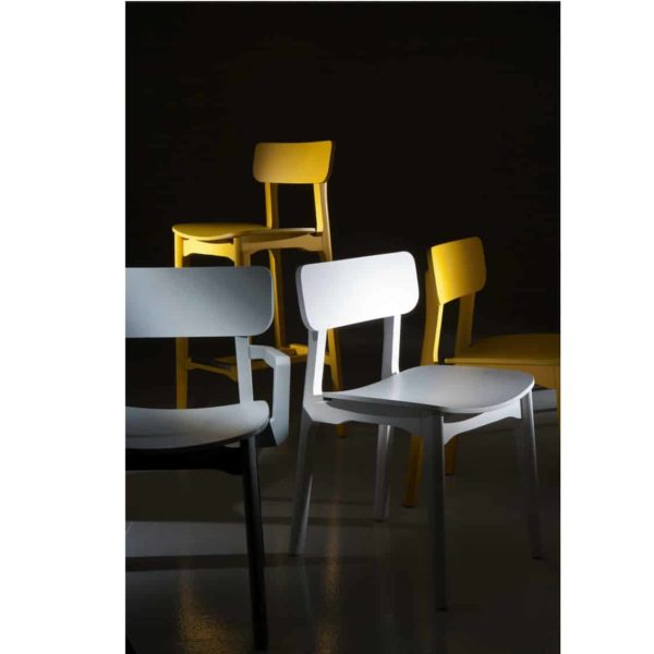 Coco Side Chair DeFrae Contract Furniture Colours