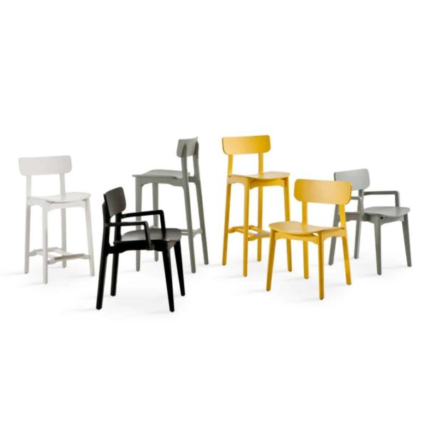 Coco Side Chair DeFrae Contract Furniture Colours Range