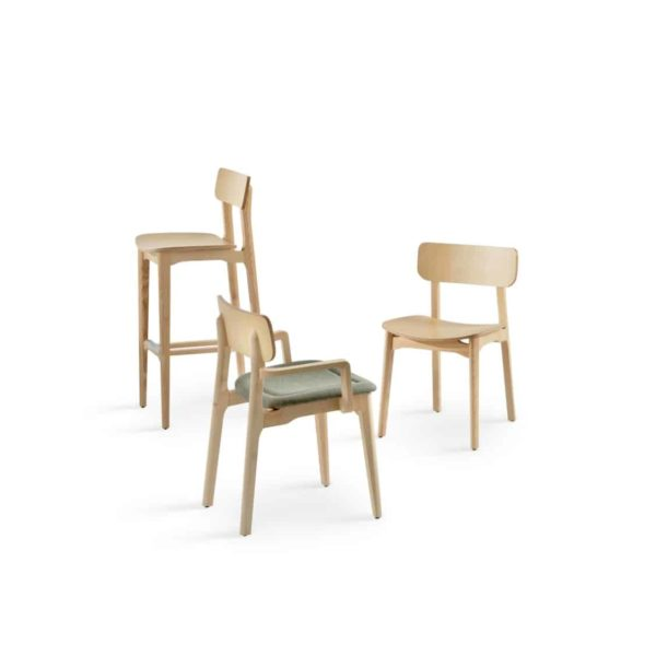Coco Side Chair DeFrae Contract Furniture Range
