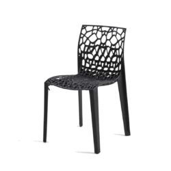 Coral side chair eco friendly and stackable