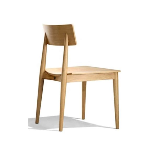 Crack side chair DeFrae Contract Furniture Natural Wood Chair