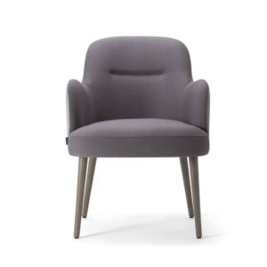 Da Vinci Armchair 02 100 DeFrae Contract Furniture