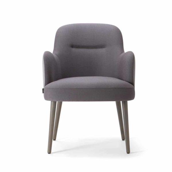 Da Vinci Armchair 02 100 DeFrae Contract Furniture