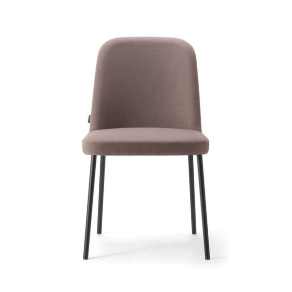 Da Vinci Side Chair 01 DeFrae Contract Furniture 113 Metal Legs