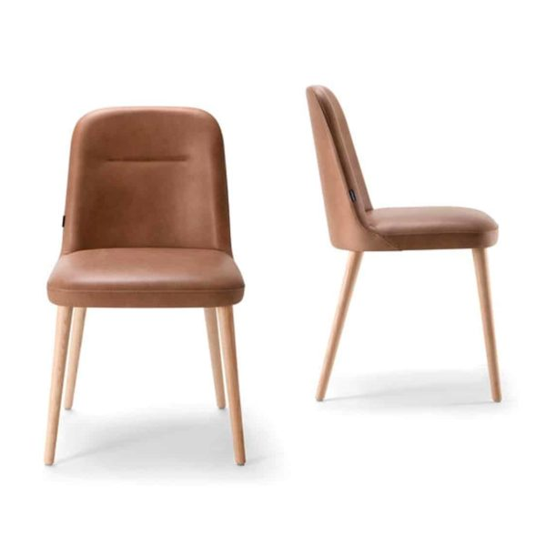 Da Vinci Side Chair 01 DeFrae Contract Furniture