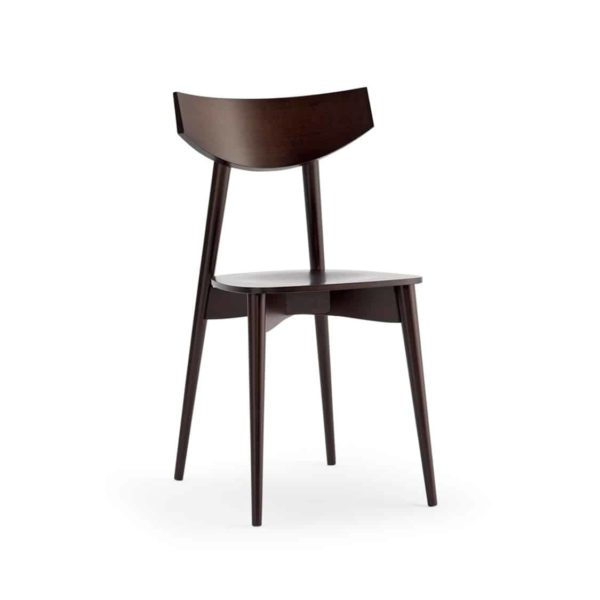 Day Chair Dayana DeFrae Contract Furniture Walnut Stain