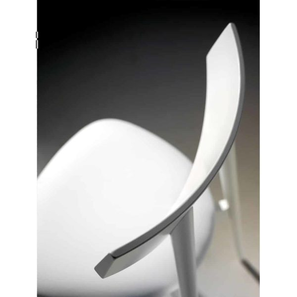 Day Chair Dayana DeFrae Contract Furniture White Above Shot