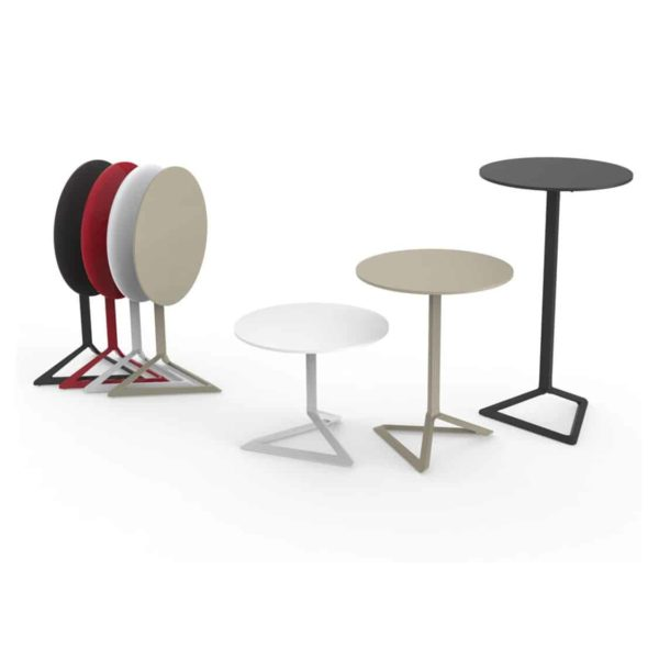 Delta Flip Top Table Vondom DeFrae Contract Furniture Range