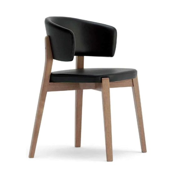 Dixie Armchair Curved Back DeFrae Contract Furniture