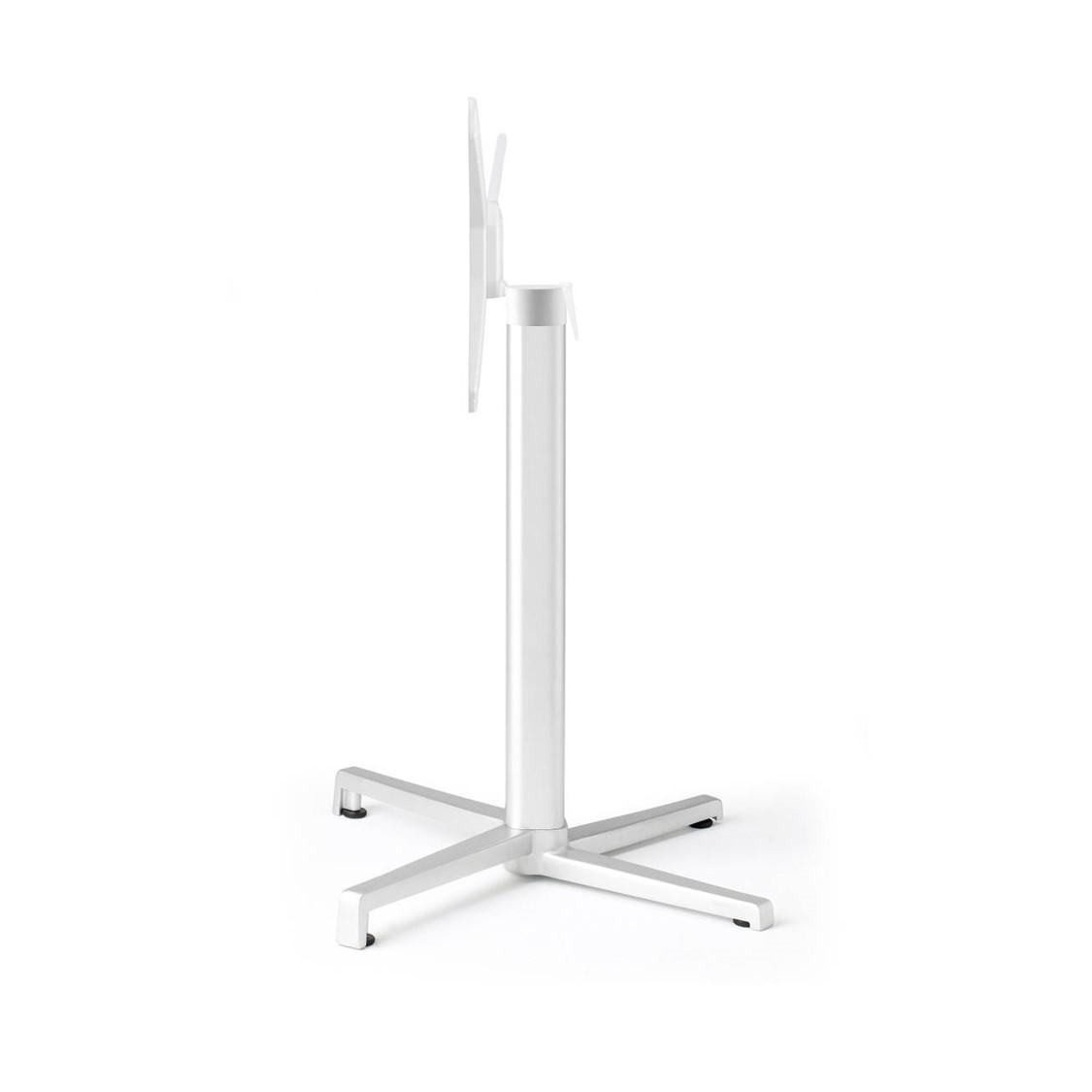 Domino Flip Top Table Base White Hero