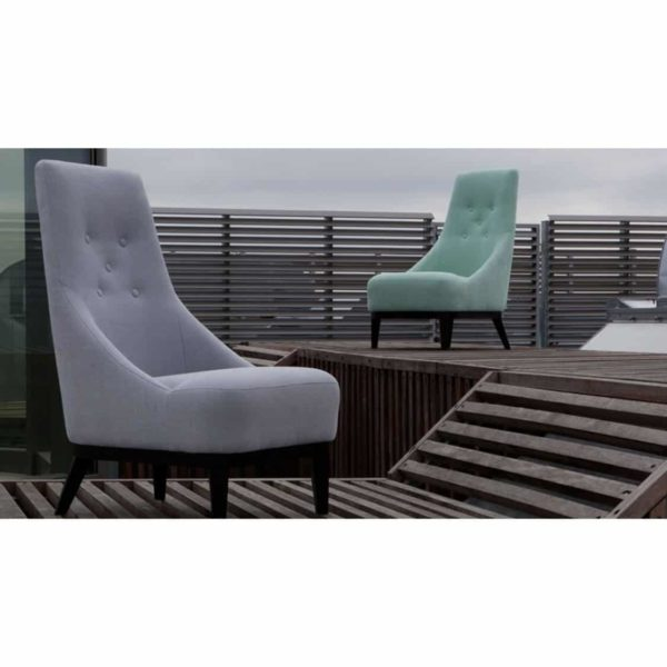 Donna Lounge Armchair high back Sits DeFrae Contract Furniture
