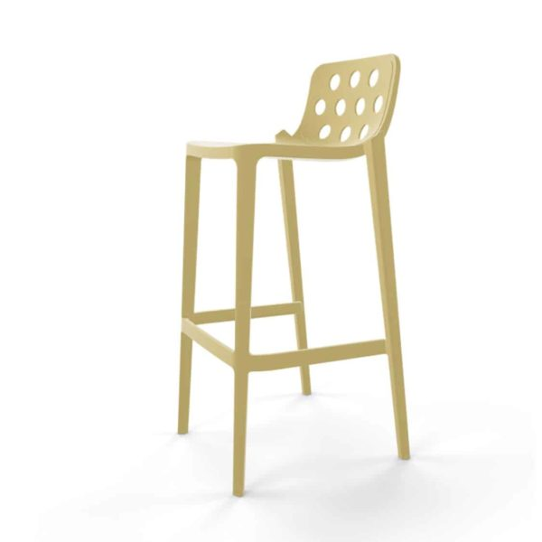Dory Stackable Bar stool Isidoro Gaber at DeFrae Contrcat Furniture Sage