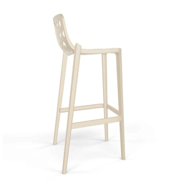 Dory Stackable Bar stool Isidoro Gaber at DeFrae Contrcat Furniture Sand