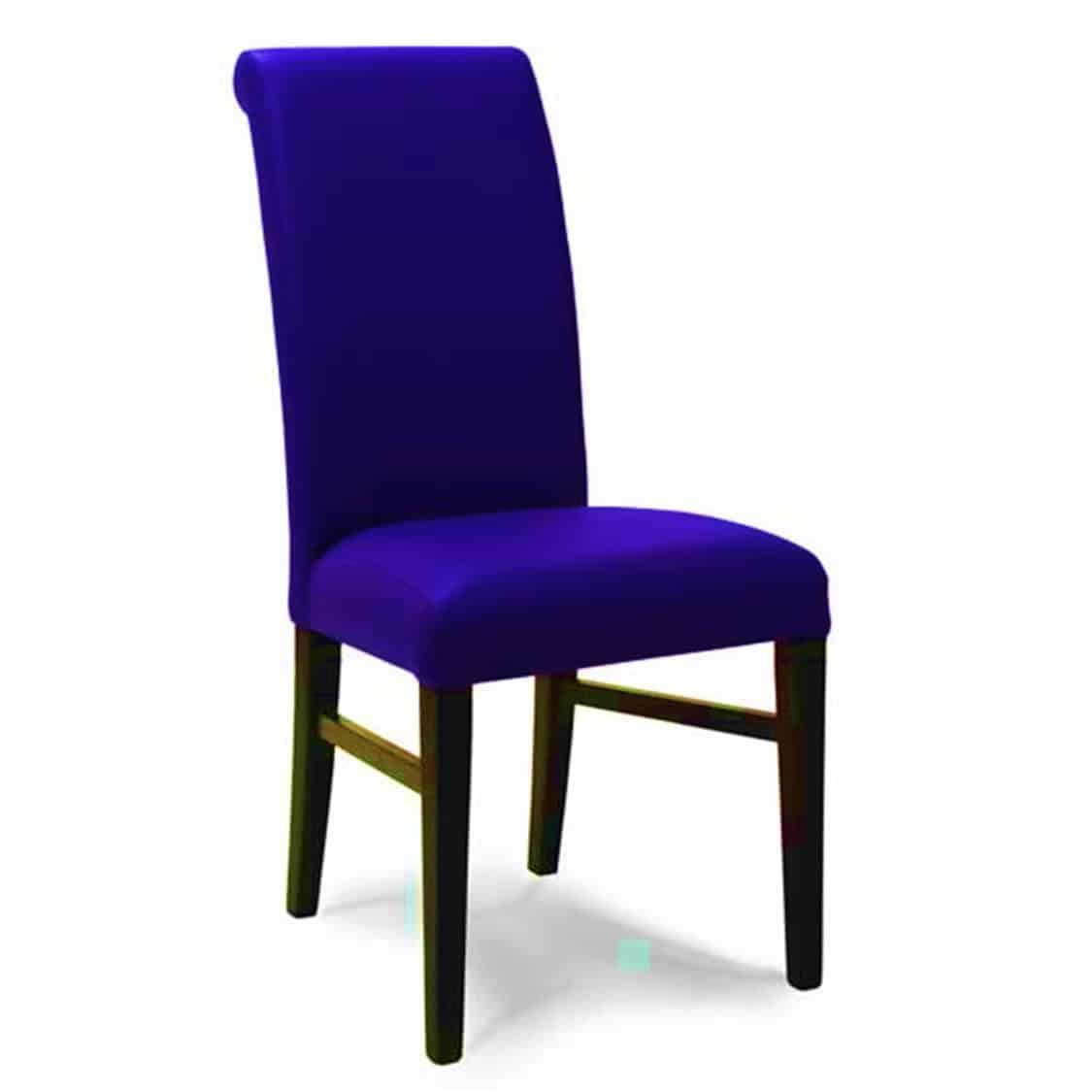 Dover Side Chair High Back Dining Chair DeFrae Contract Furniture Blue