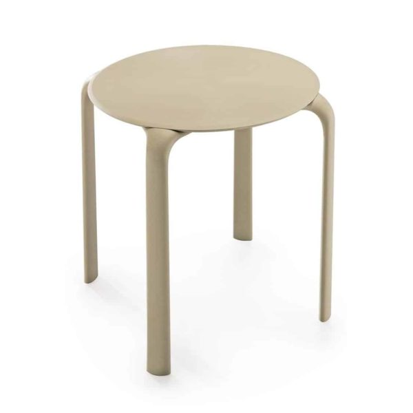 Drop Table Infiniti Design at DeFrae Stackable Taupe