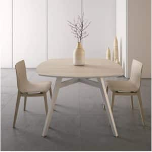 Emmy Table available at DeFrae Contract Furniture in situ