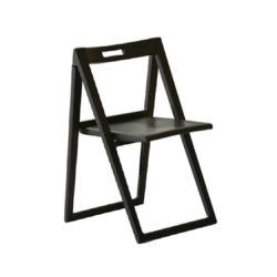 Enjoy side chair folding chairs Black Pedrali at DeFrae Contract Furniture