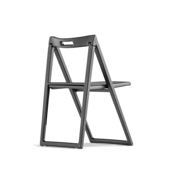 Enjoy side chair folding chairs Black Pedrali at DeFrae Contract Furniture Side Back