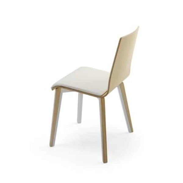 Etta Side Chair Tony Cignini DeFrae Contract Furniture Back