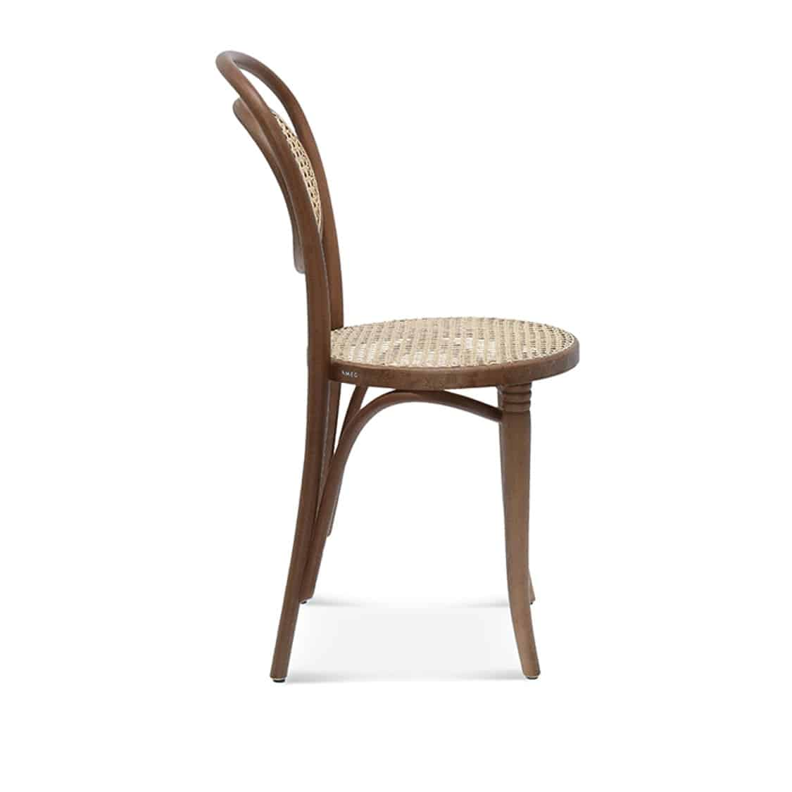 Fleur Side Chair Bentwood Chair With Kane Seat And Back DeFrae Contract Furniture Side