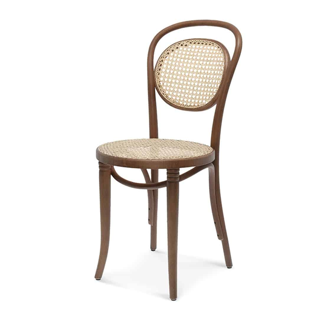 Fleur Side Chair Bentwood Chair With Kane Seat And Back DeFrae Contract Furniture
