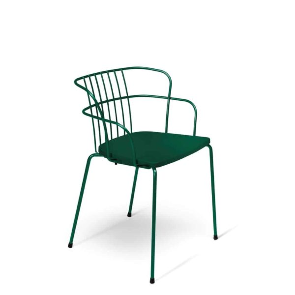 Flint Armchair Et Al available from DeFrae Contract Furniture Green