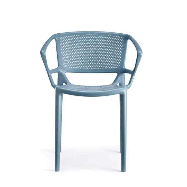 Flora Armchair Outdoor Fiorellina Infiniti Design DeFrae Blue