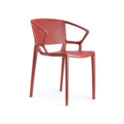 Flora Armchair Outdoor Fiorellina Infiniti Design DeFrae Red