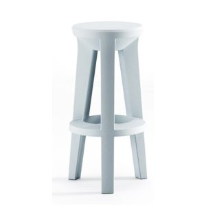 Frozen bar stool outside Plust at DeFrae Contract Furniture Colours