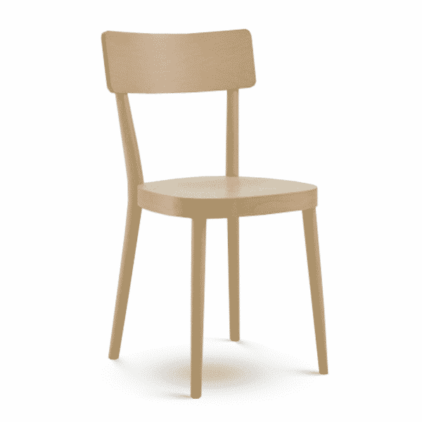 Gaia Side Chair Classic Wooden Chair DeFrae Contract Furniture