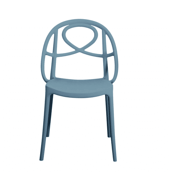 Galaxy Etoile P Side Chair Blue DeFrae Contract Furniture