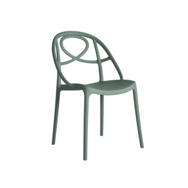 Galaxy Etoile P Side Chair DeFrae Contract Furniture Gree