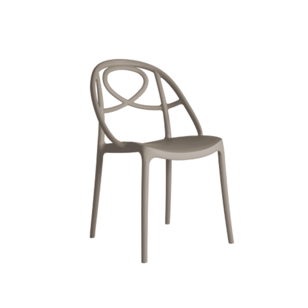 Galaxy Etoile P Side Chair DeFrae Contract Furniture Turtle Dove