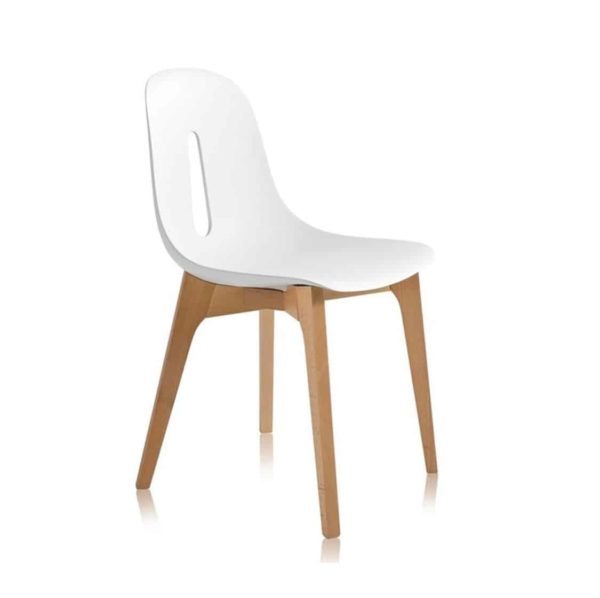 Gotham W Side Chair DeFrae Contract Furniture