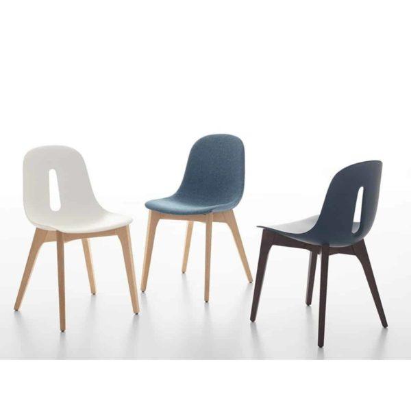 Gotham W Side Chair DeFrae Contract Furniture Range