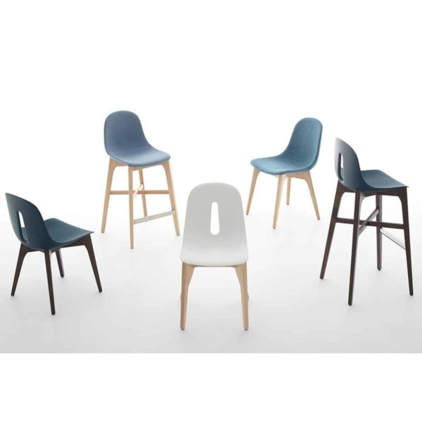 Gotham W Side Chair DeFrae Contract Furniture Range Colours