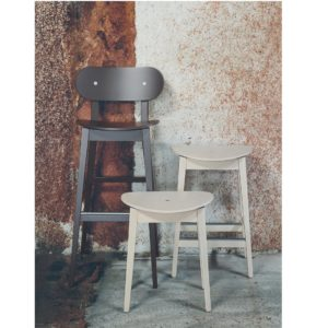 Grady Bar Stool Gradisca Billiani Wooden DeFrae Contract Furniture Range Stools