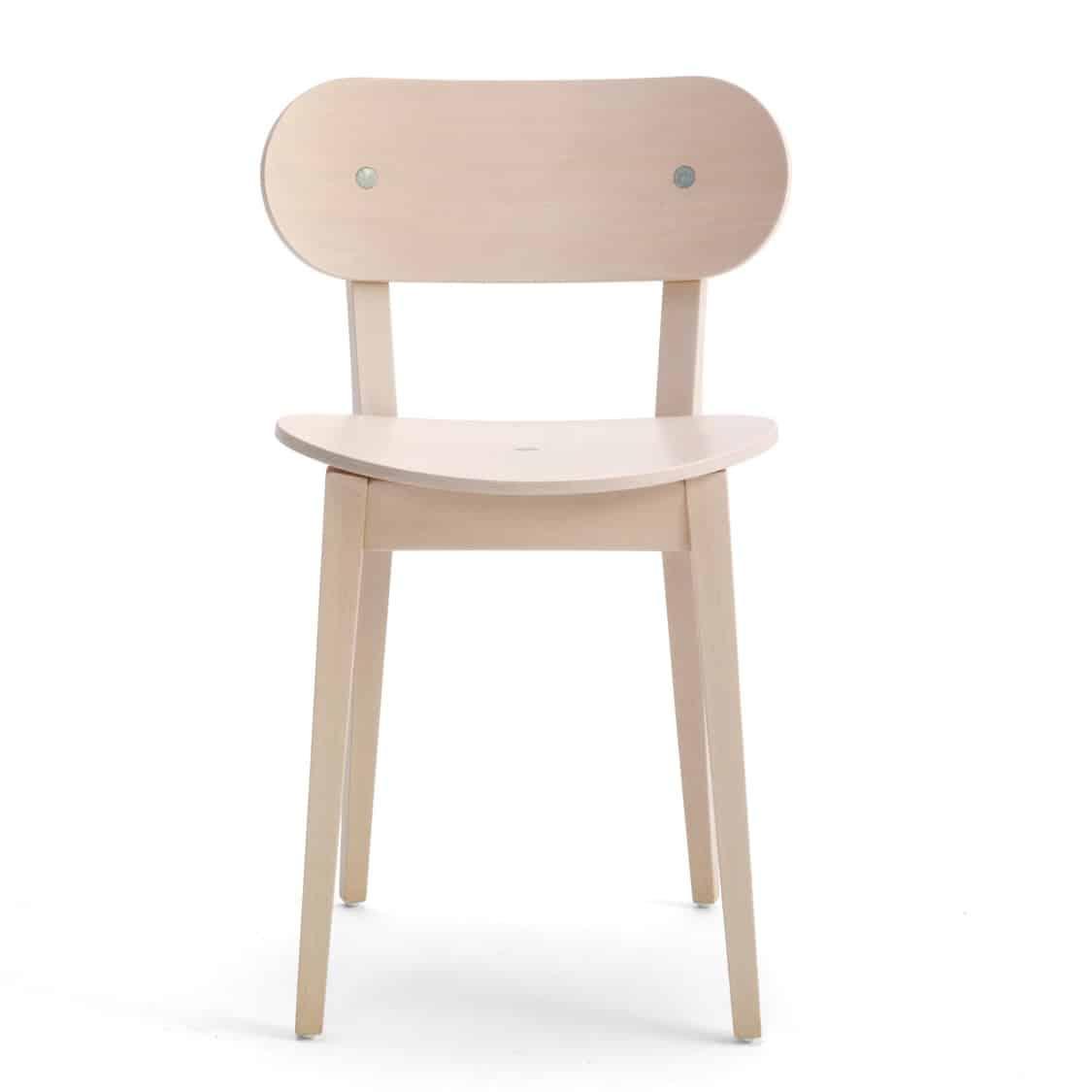 Grady Side Chair Gradisca Billiani Wooden DeFrae Contract Furniture