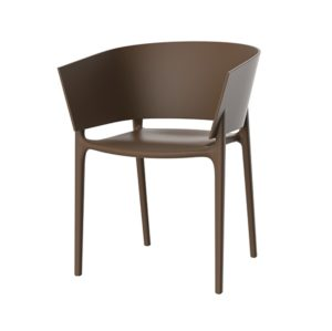 Greve Armchair Vondom Africa Stackable At DeFrae Contract Furniture Hero Image