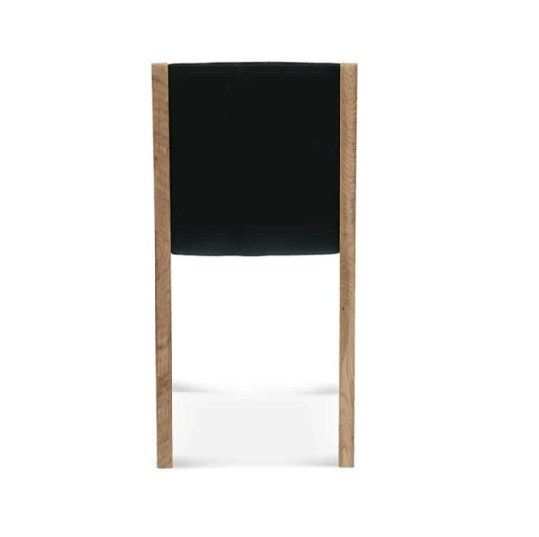 Half and Half Side Chair Teba A 1606 Fameg DeFrae Contract Furniture Back View