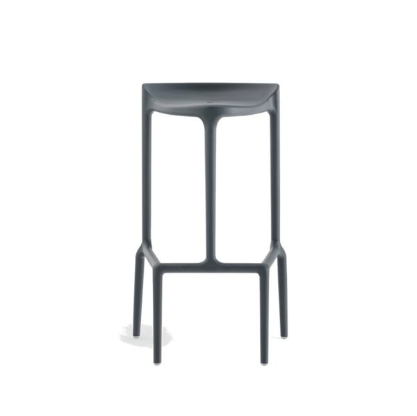 Happy Bar Stool Pedrali at DeFrae Contract Furniture Grey
