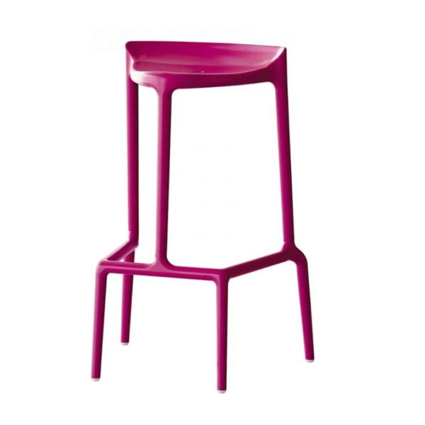 Happy Bar Stool Pedrali at DeFrae Contract Furniture Pink